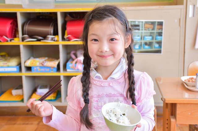 あおもり「ごはんの日」米飯学校給食のねらい